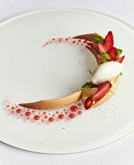 recette norohy vanille infusion dessert assiette tuloup