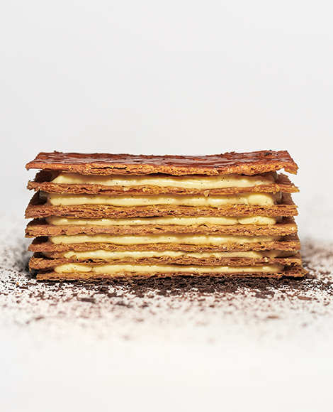 recette norohy vanille madagascar millefeuille